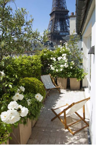 Le jardin s invite en ville deco 39 cot - Les terrasses en ville ...